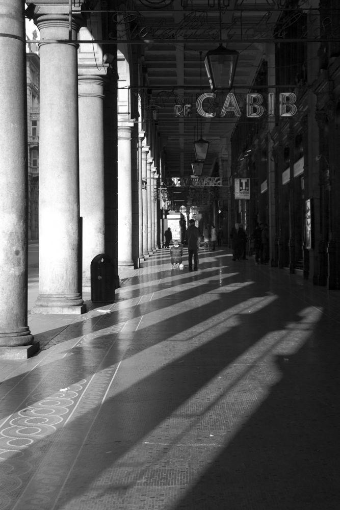 Under the porchs by Bruno Conte