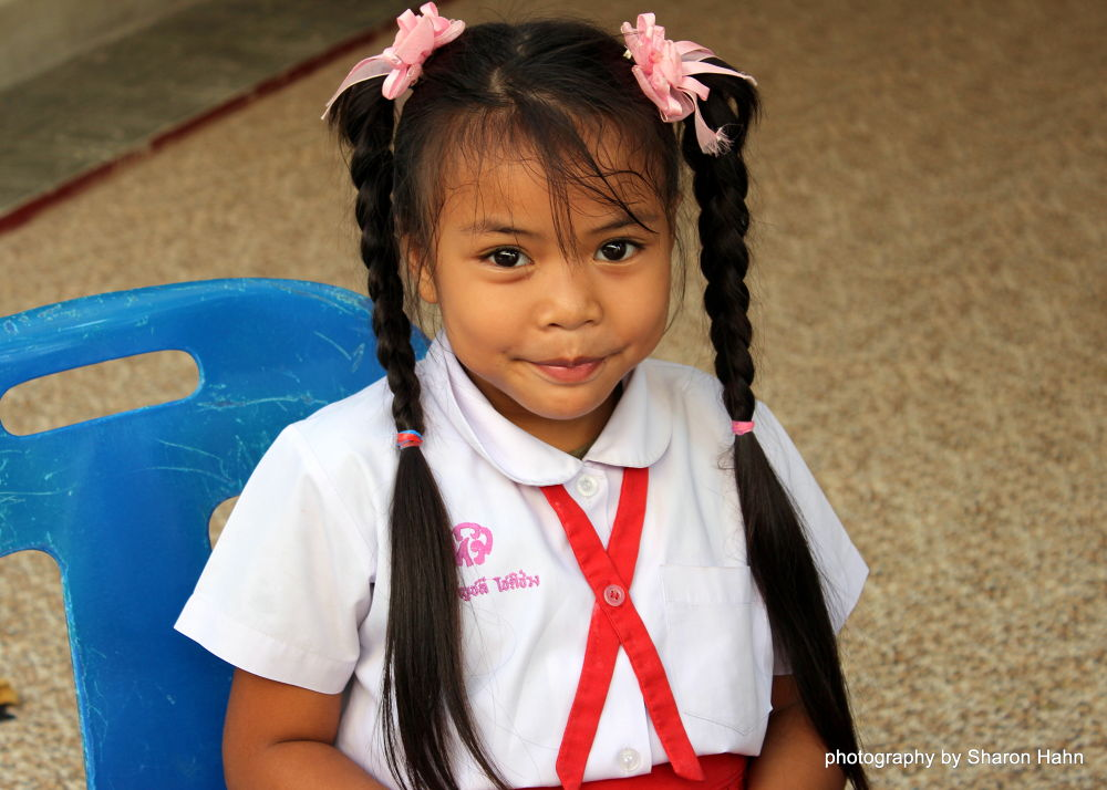 Portrait of a Thai Girl by #LuvToTravelWorld