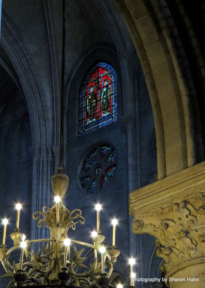 Inside the Beautiful Old Girl ~ Notre Dame ~ Paris by #LuvToTravelWorld