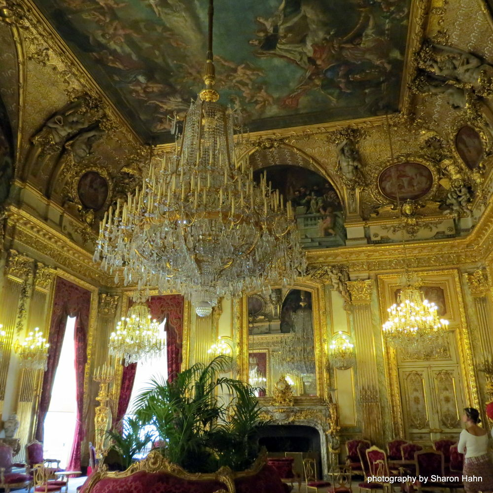 Napoleon's Apartments ~ Louvre  by #LuvToTravelWorld