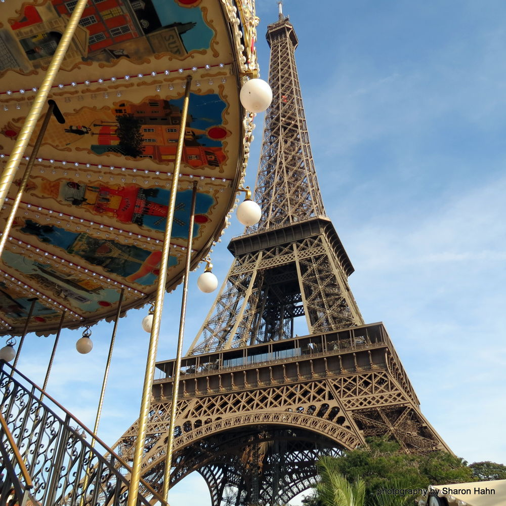 From a Child's View ~ Tour Eiffel  by #LuvToTravelWorld