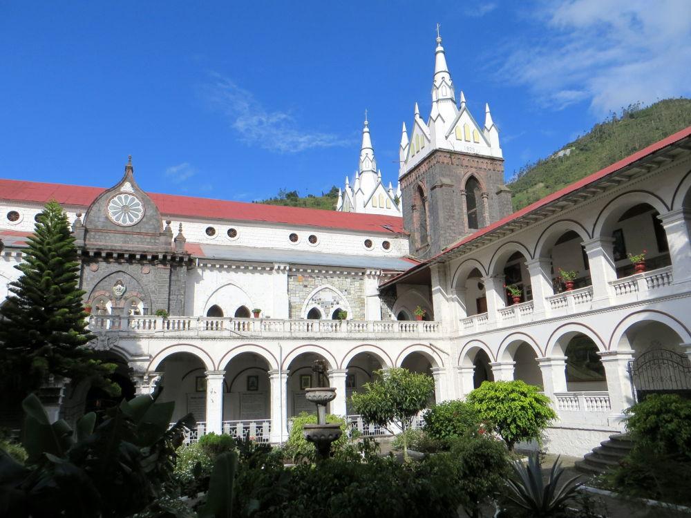 Cathedral de Banos, Ecuador by #LuvToTravelWorld