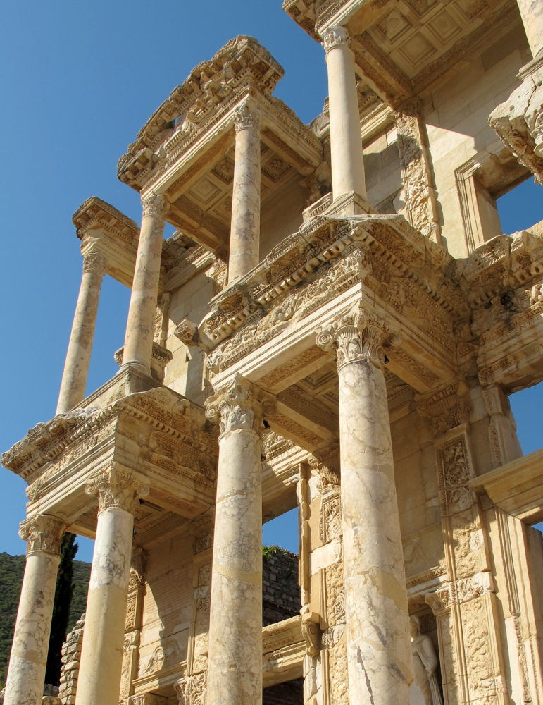 Library of Celsus by #LuvToTravelWorld