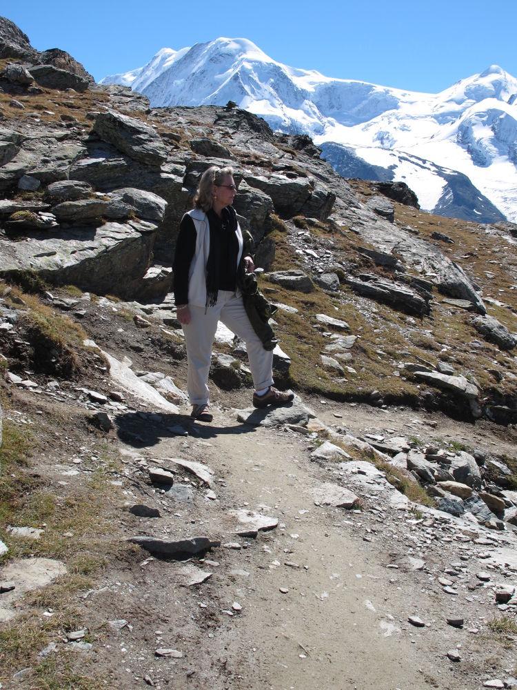 A Long Way Down ~ Gornergrat by #LuvToTravelWorld