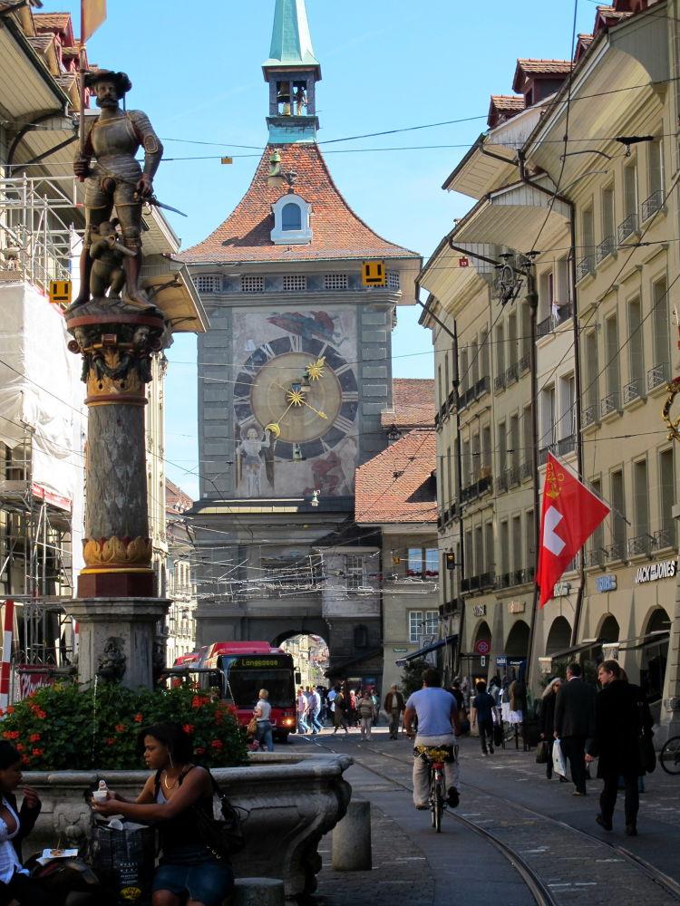 Clock Tower ~ Bern by #LuvToTravelWorld