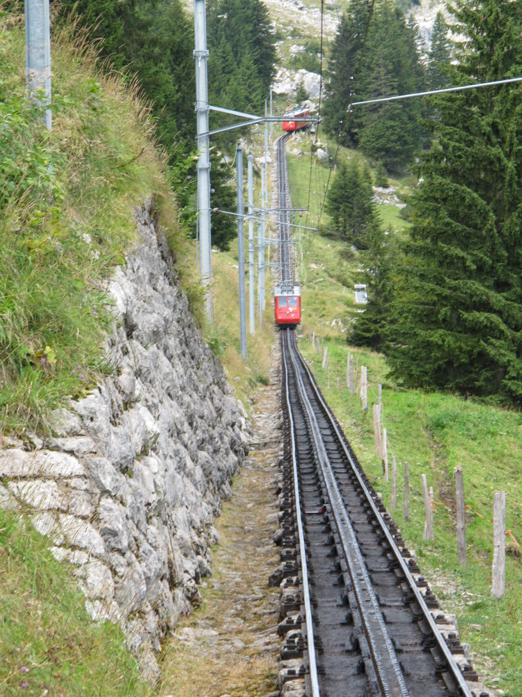 Heading Down ~ Mt. Pilatus by #LuvToTravelWorld