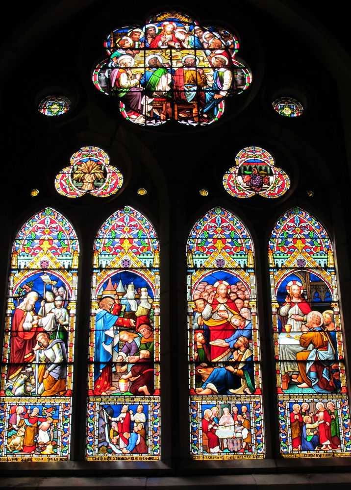 Stained Glass ~ St. Mary's Church ~ Killarney, Ireland  by #LuvToTravelWorld