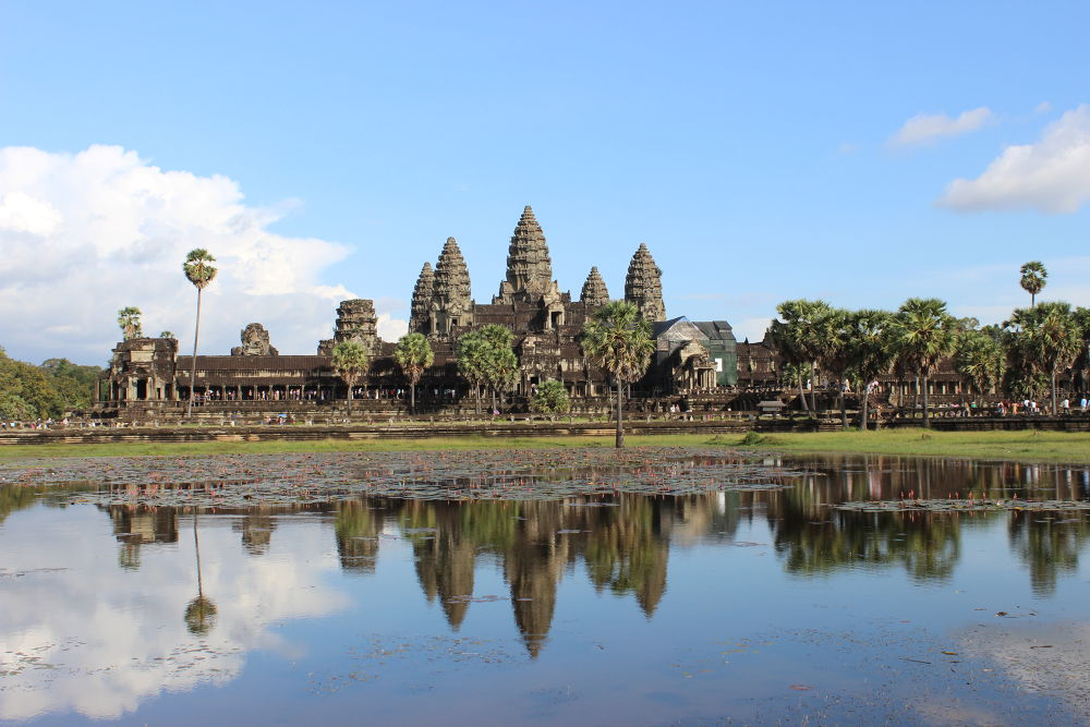 Reflections on Angkor Wat by #LuvToTravelWorld