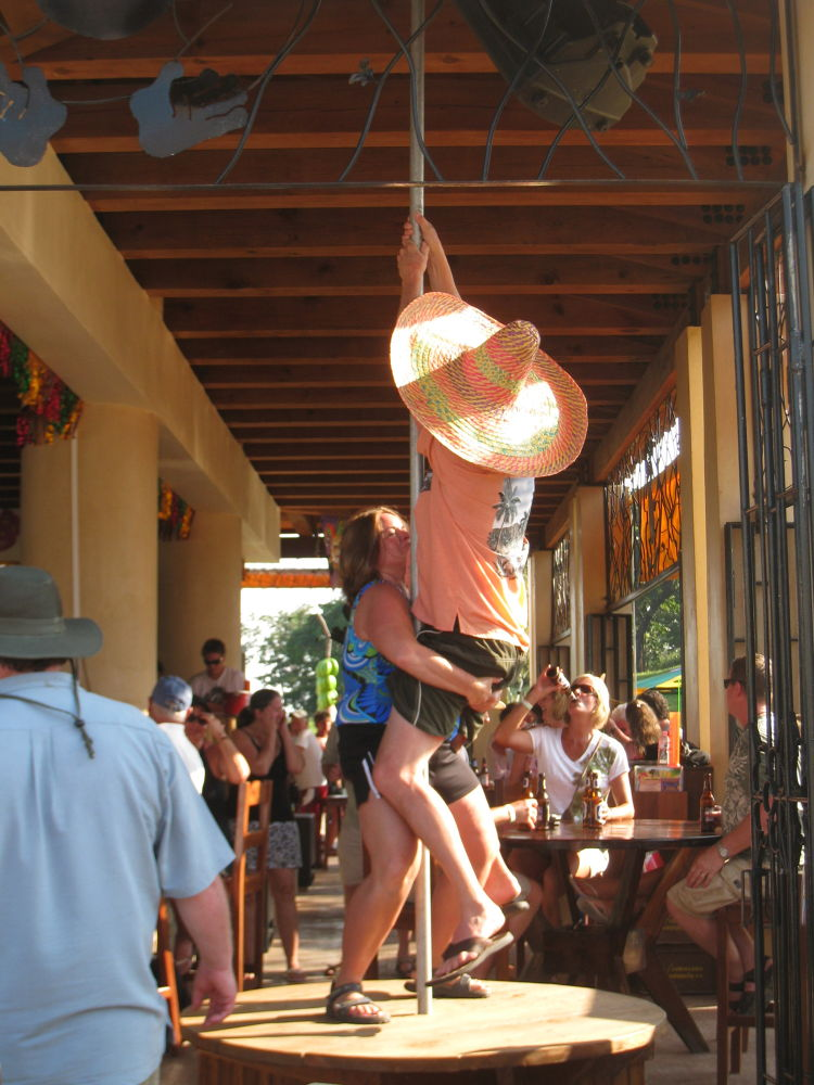 Pole Dancing, or what not to do when you're drunk at a bar by #LuvToTravelWorld
