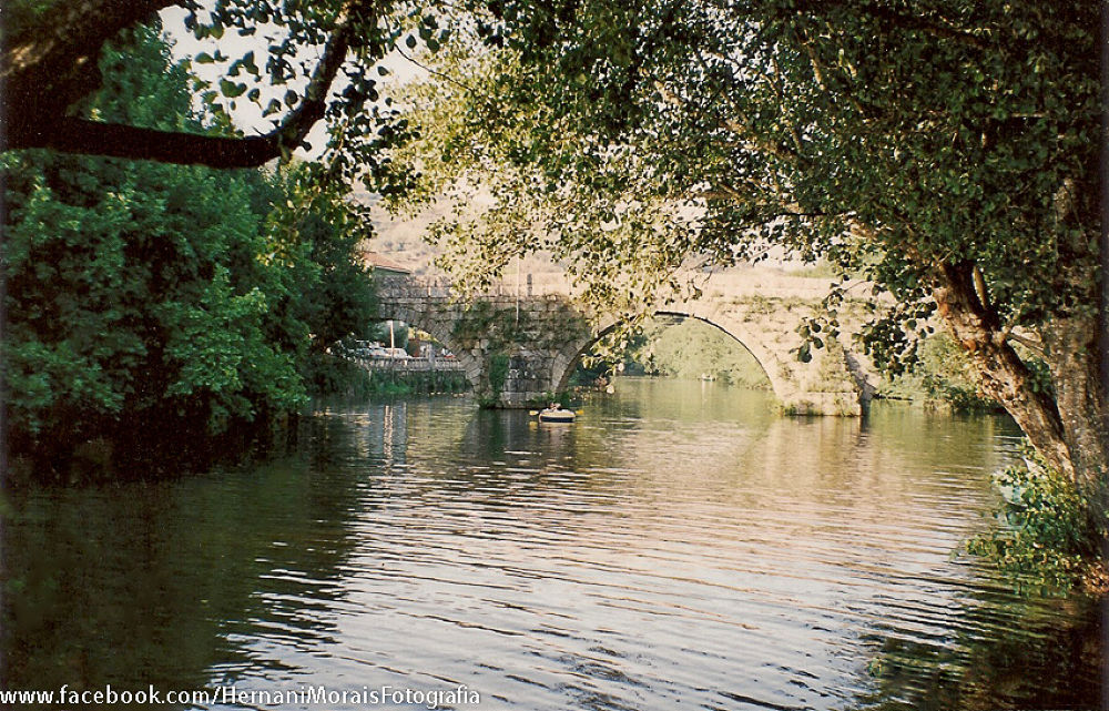 Alva river, Portugal ( Froma scanned photo) by hernanimorais5