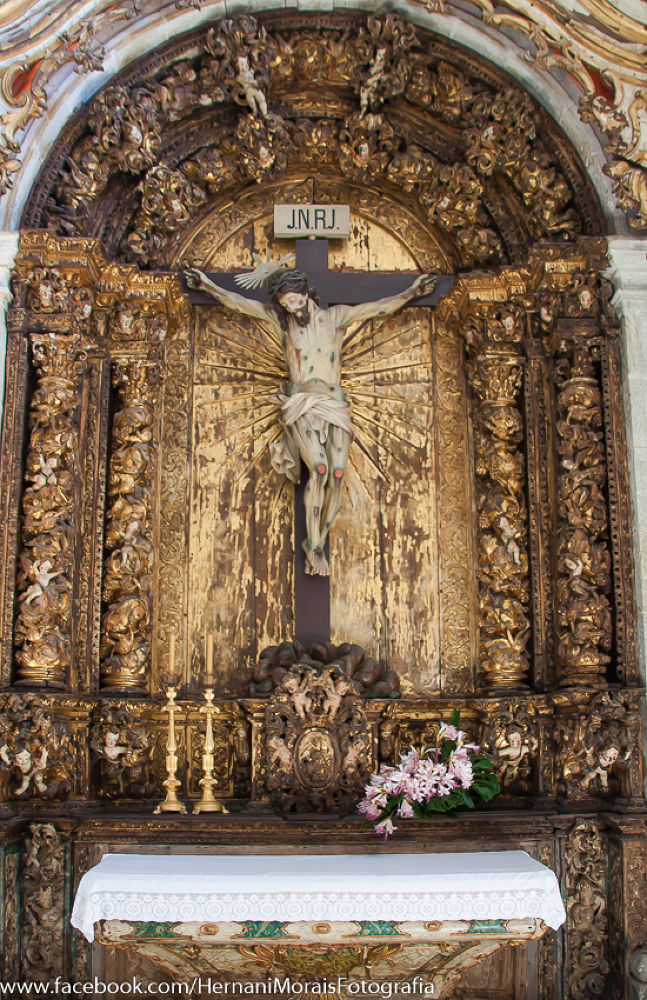 Christ Crucified. Church of the Monastery of Saint Andrew Rendufe, Amares, Portugal by hernanimorais5
