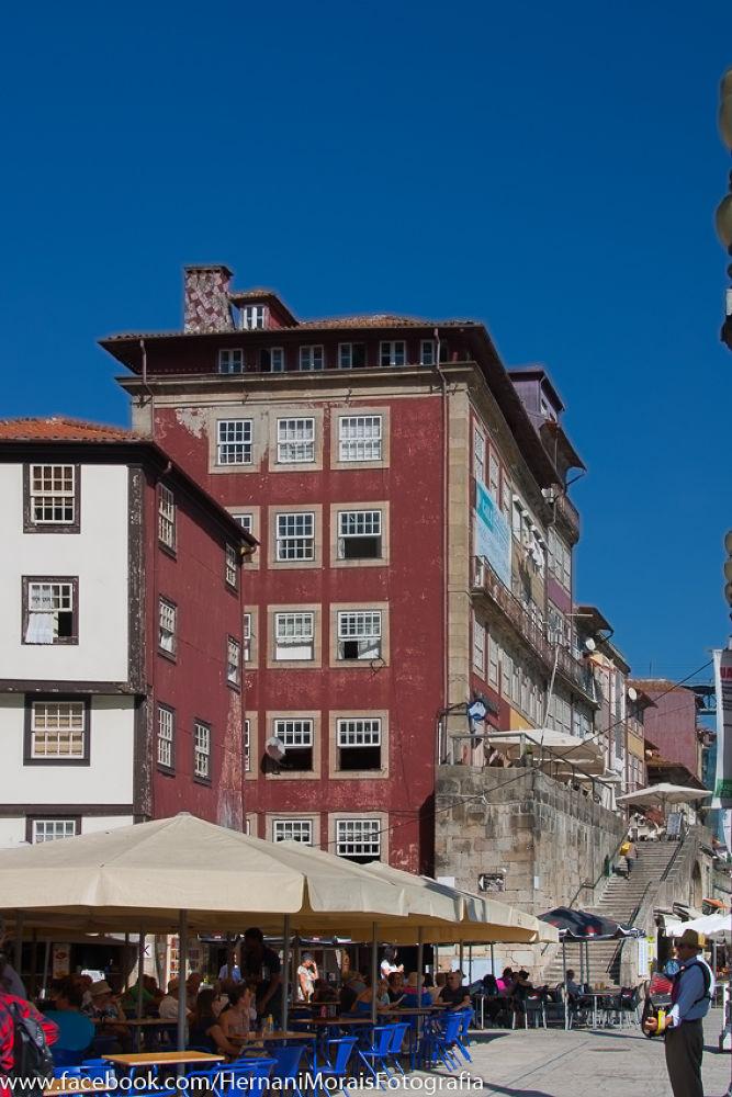 Ribeira Square, Oporto City, Portugal by hernanimorais5