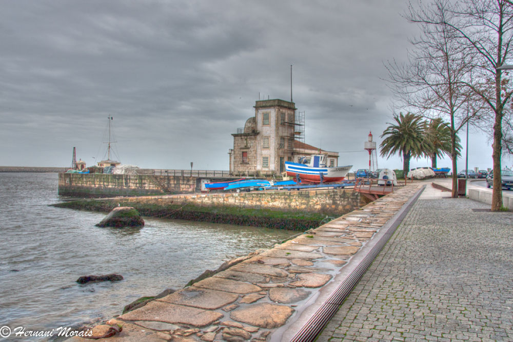 Lighthouse St. Miguel the Angel, Porto, Portugal by hernanimorais5