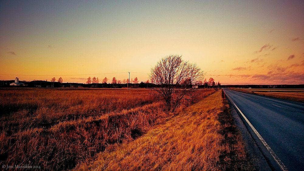 Fields of Paimio & My lonely Roads  kk0101jm1 by Joni Mansikka