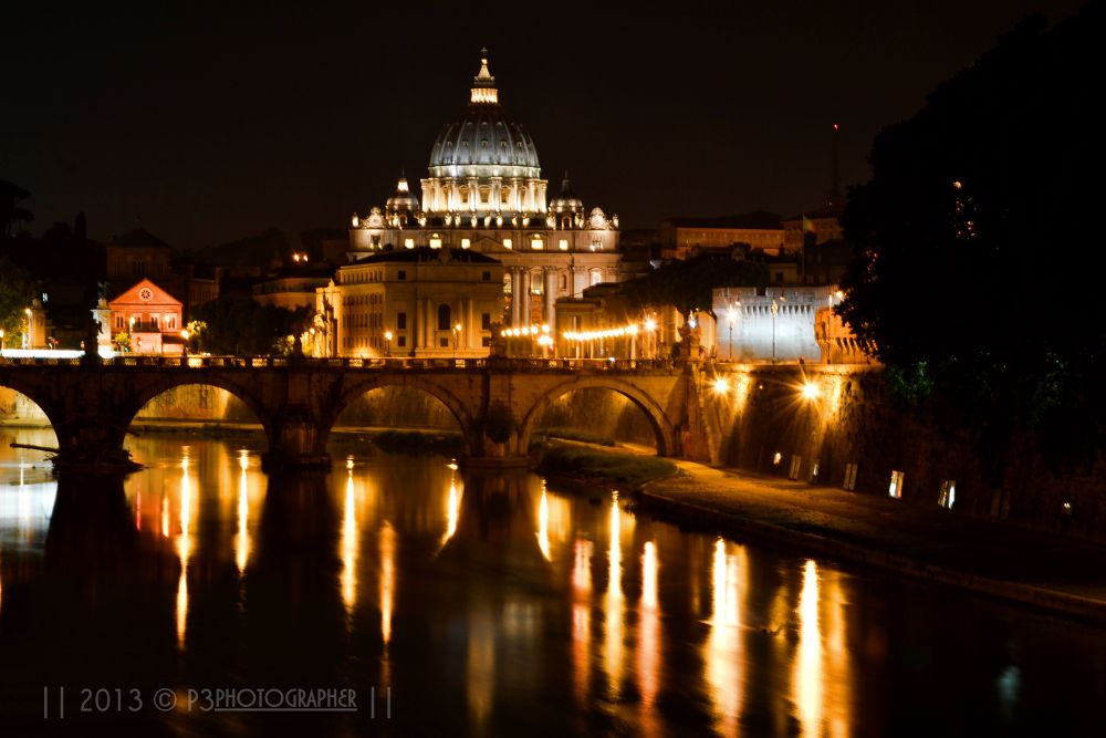 Lights of Rome  by P3photographer