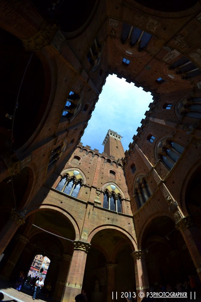 look up! ( Siena Toscana Italy )  by P3photographer