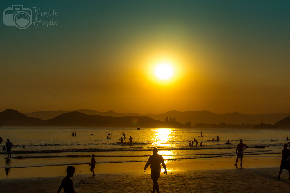 Photo in Random #beach santos/brazil.