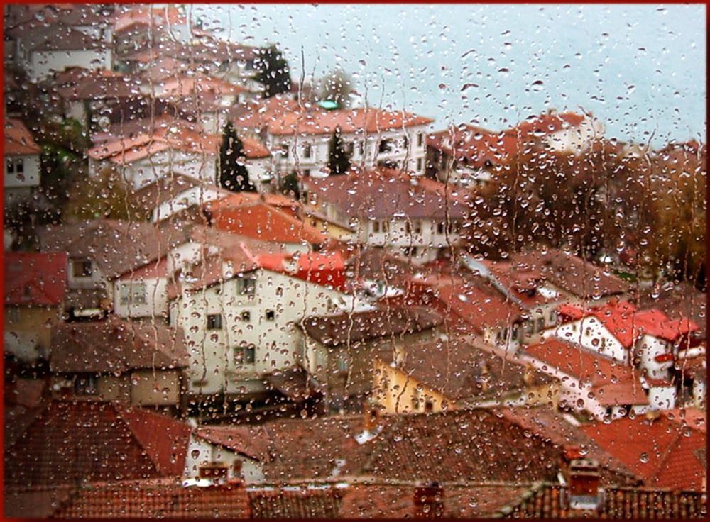 raindrops keep fallin'on my...window! by vlado žura