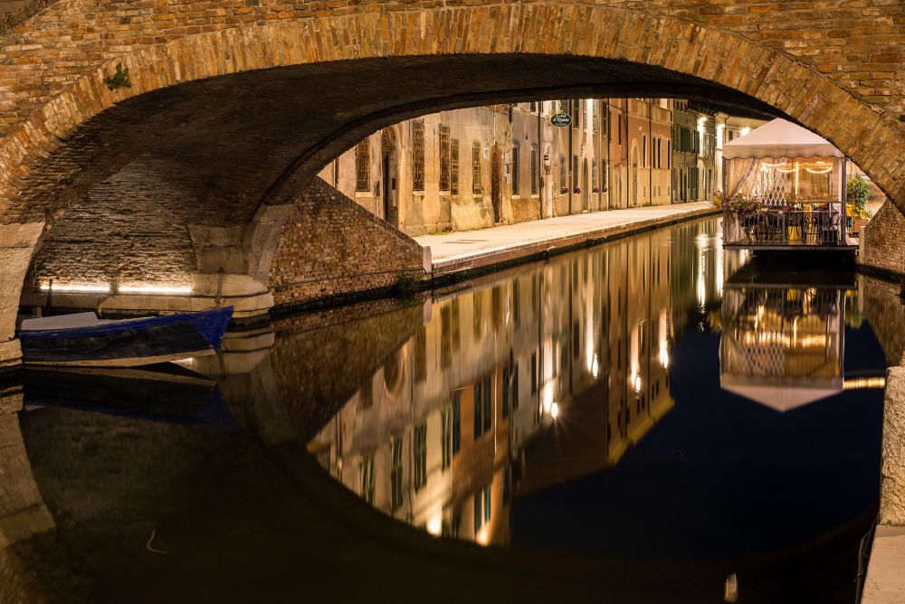 Under the bridge by cesare oppo