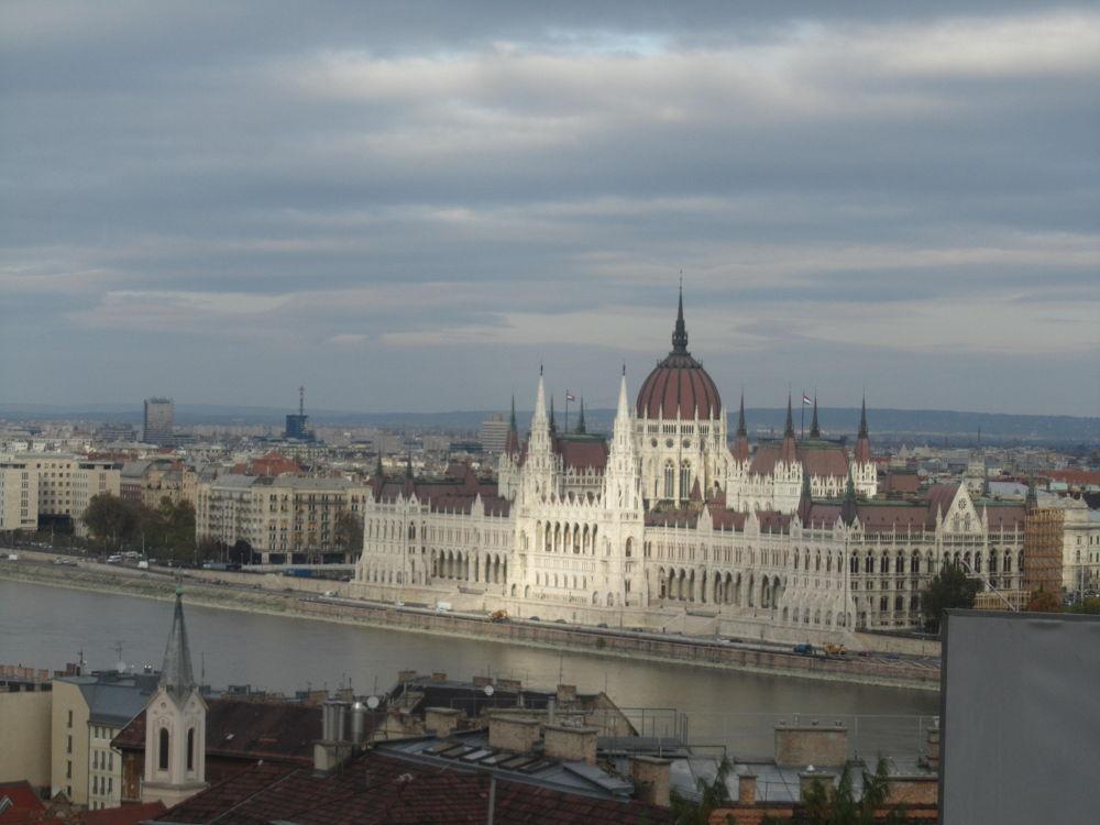 Budapest y el danubio by angelaflautista