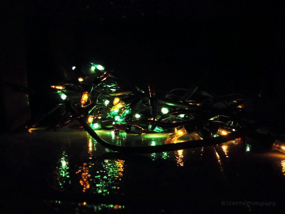 Christmas lights by LFarinha Photography