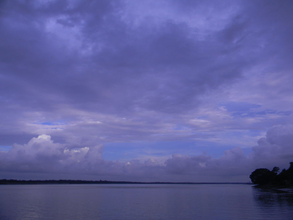 Sky kissing River by prasenjitg1