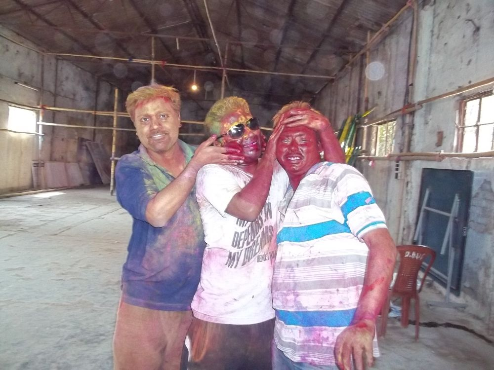 Holi...celebration of COLOUR IN INDIA by prasenjitg1