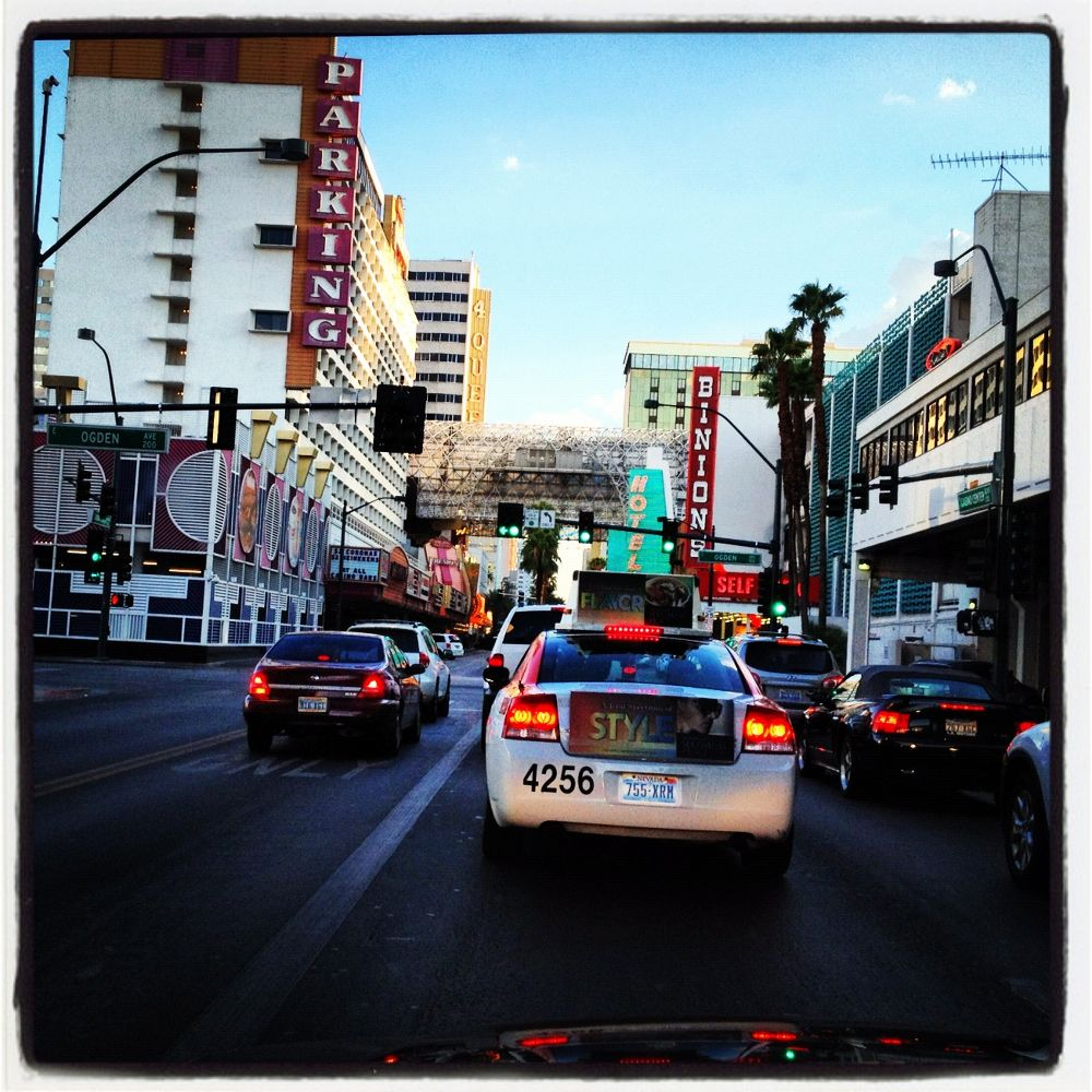 Vegas Street View by Mats H. Andersson