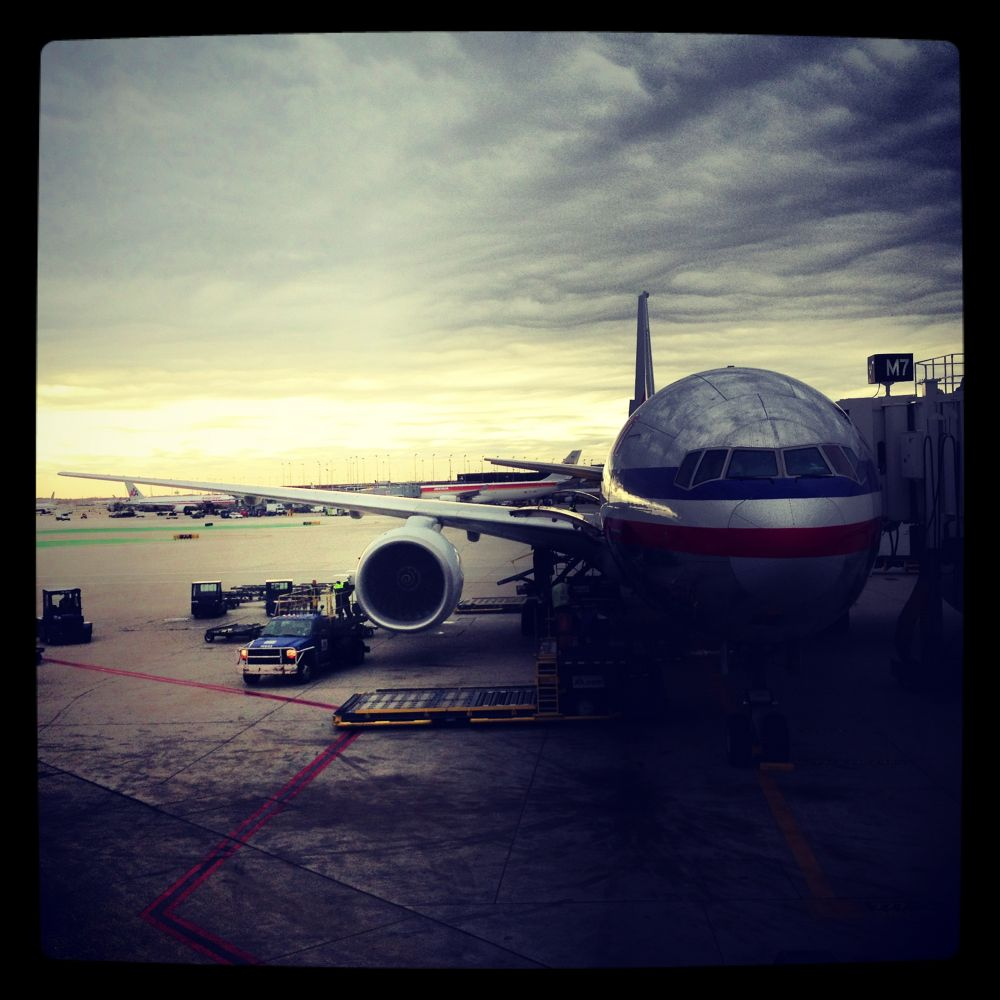 Chicago O´Hare Int. Airport / Eve of Hurricane Sandy .. no worries by Mats H. Andersson