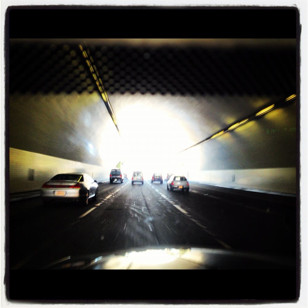 If you can see the light in the tunnel, your'e still in the f'king tunnel .. by Mats H. Andersson