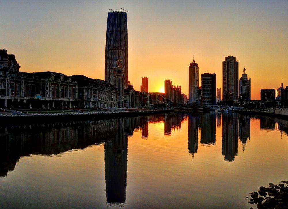 An evening in Tianjin. by Mosaddeque Rahman