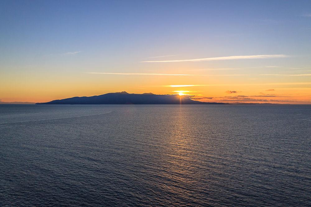 Corfu Sunset by Kyriakos Dallas