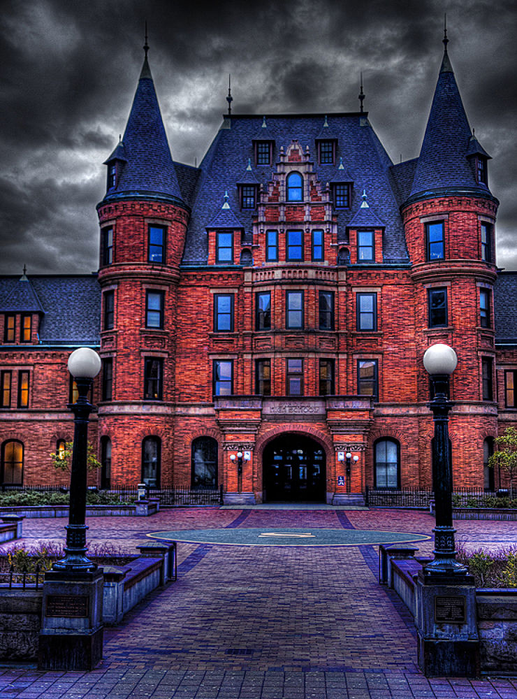 Stadium High School (hdr) by bsharts
