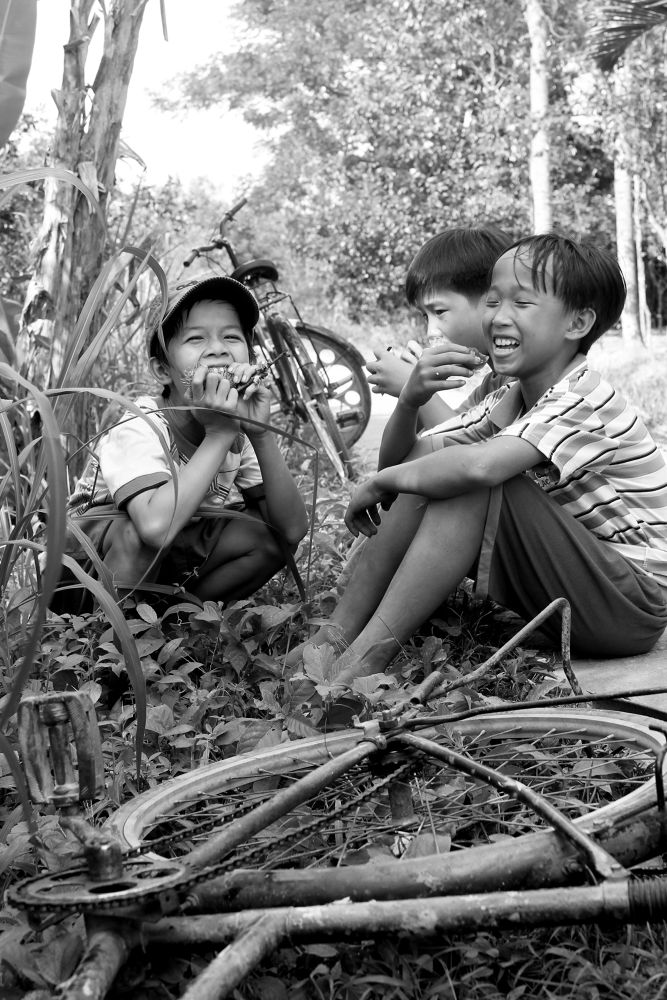 childhood by Nhat giang