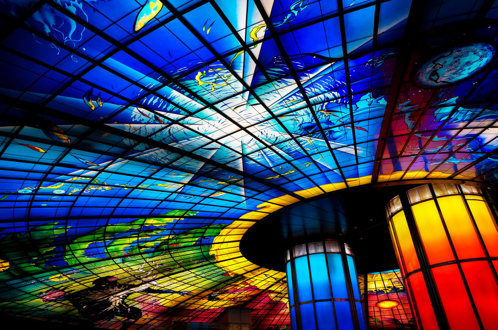 the dome of light by Han-Lin