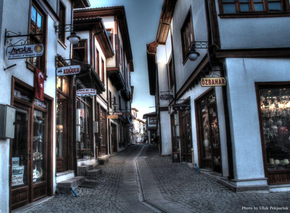Photo in HDRI #the narrow street #ἄγκυρα #anküra #ankyra  & ancyra #angora #historical