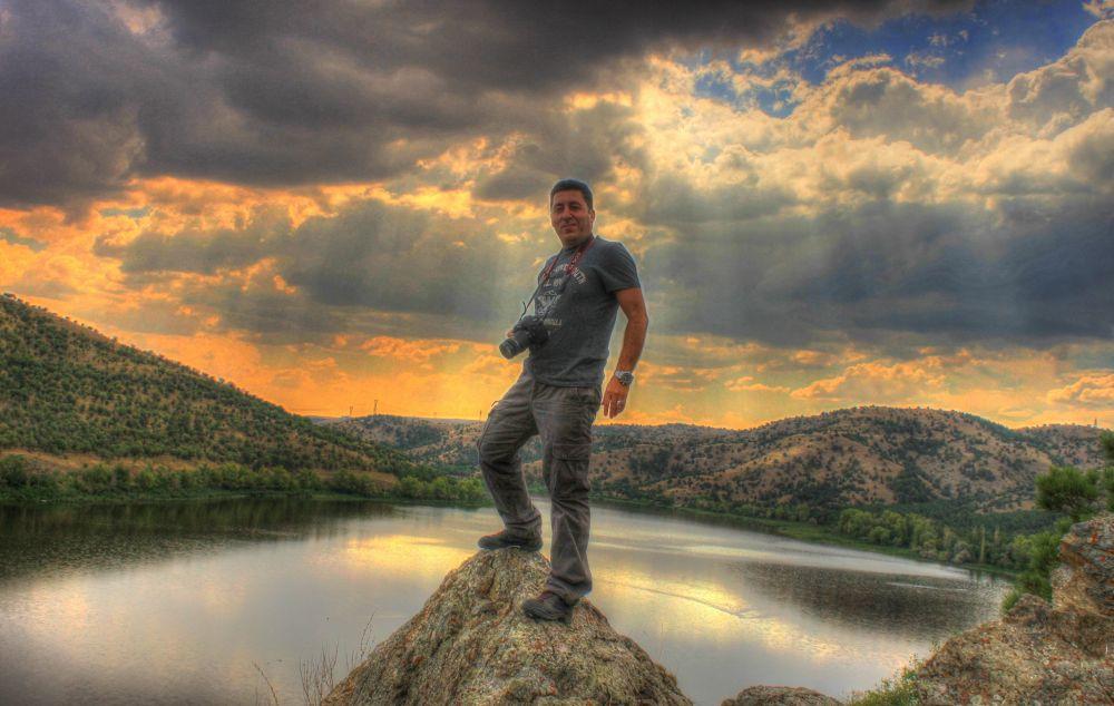 Photo in HDRI #myself #i am #my #eymir lake #metu #odtü #nature #sunset #cloud #sun #i'm photographer #canon 7d #photographer #summit #photo safari #middle east technical universi