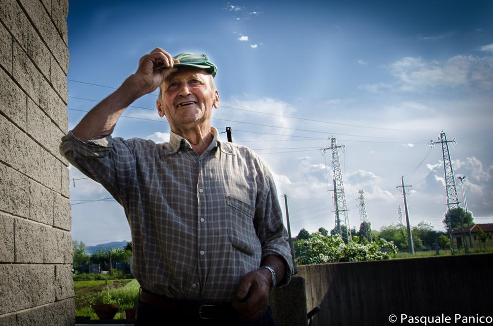 the farmer smile by Pasquale Panico