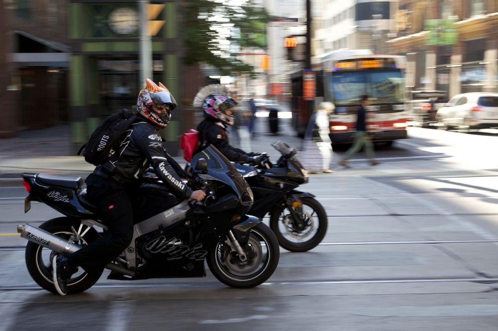 Photo in Vehicle #motorcycle #helmet #toronto #transportation