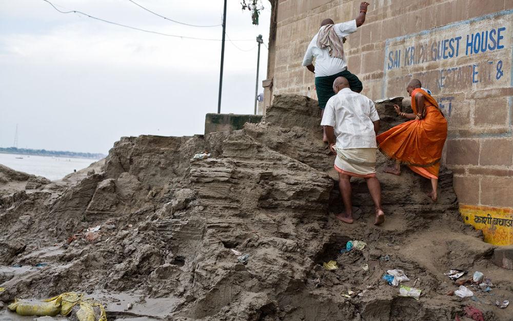 ghats after flood by santoshkpandey18