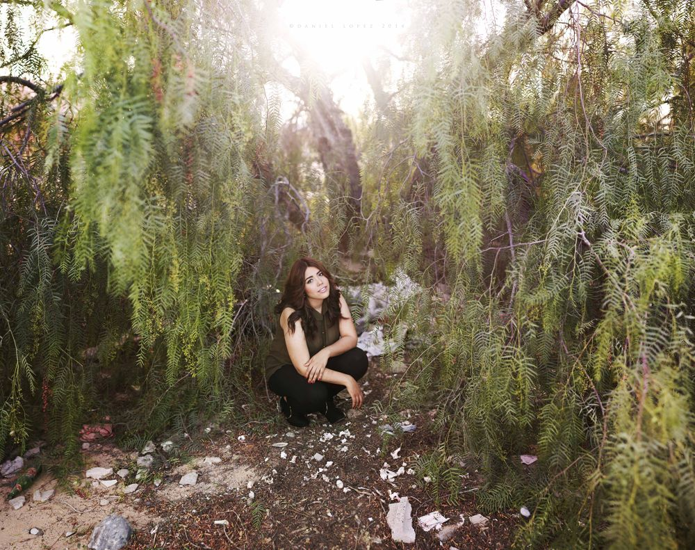 Photo in Random #brenizer #girl #tree #arbol #metodo #shoot #woman #verde #green