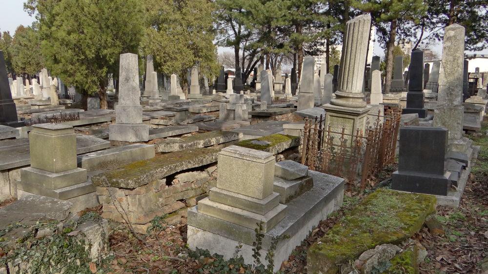 Old Jewish cemetery by Alekdandar Dekanski