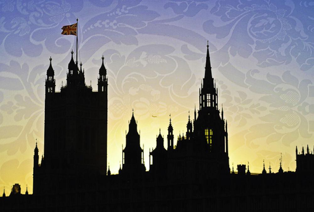 Victorian London in Love - Mixed Media  by davidperea