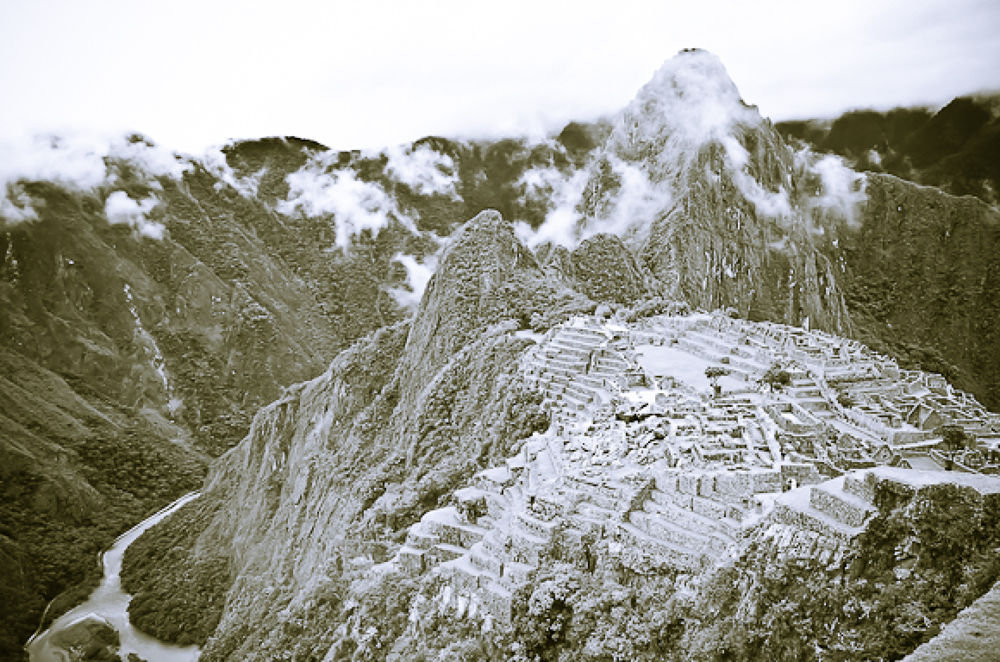 Machu Picchu Peru, 7 Wonder of the world  by davidperea