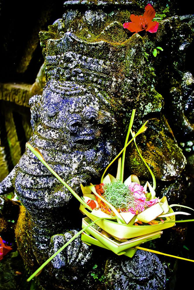 Ganesha and his offer. Bali  by davidperea