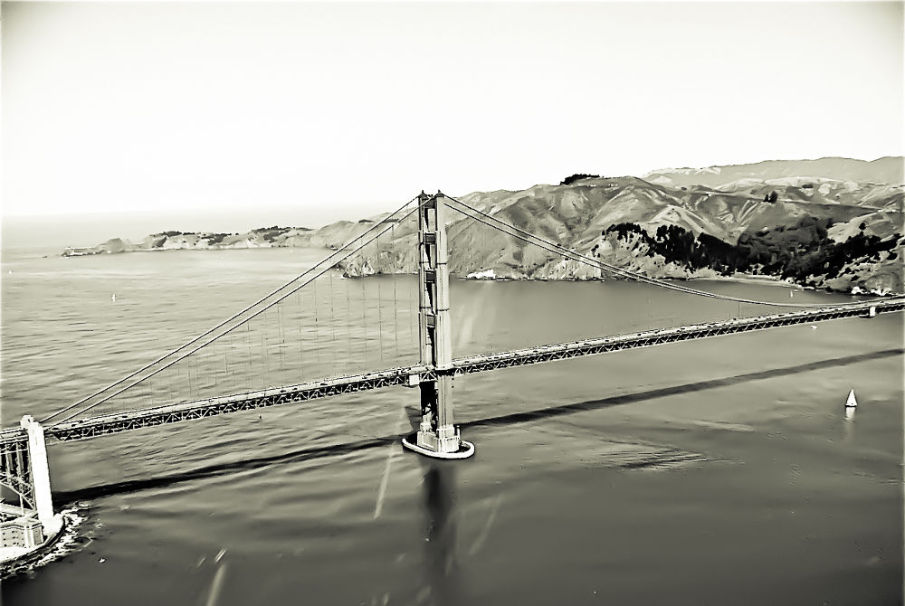 Aerial San Francisco by davidperea