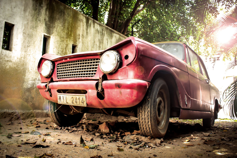 Vintage car by shereef