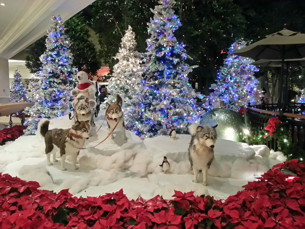 12-19-2012 - Christmas Decorations in Lobby of Beau Rivage Resort & Casino - Biloxi, MS #4 by rnspicer