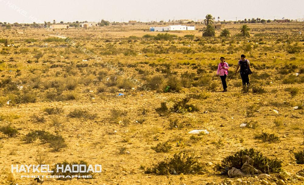 la chemin de l'ecole  by haddadhaykel