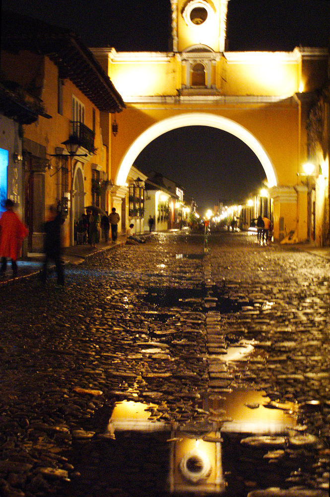 Photo in Travel #santa catalina #antigua guatemala #reflejos.